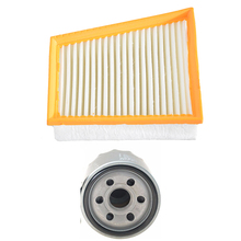 Car Air Filter Oil Filter for Renault Scenic 2.0L 2010 2011 2012 2013 2014 2015 2016 7701071327 26300-02503 мягкая игрушка панда текстиль 45см