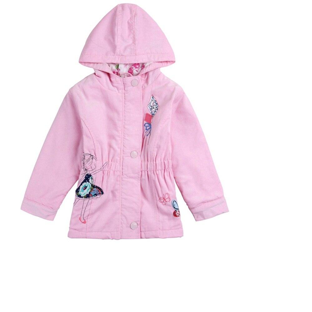 Ingyenes szállítás 2016 ősz Gyermek pamut kabát lány - Gyermekruházat
