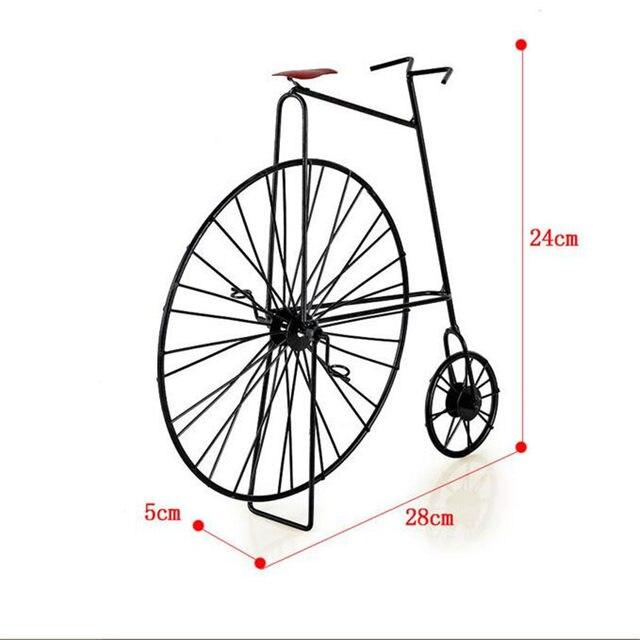 Online-Shop Vintage wohnkultur 3D Miniatur Fahrrad Dekoration ...