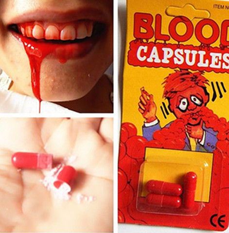 Funny Blood Pill