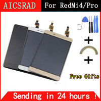 AICSRAD For Xiaomi Redmi 4 Pro LCD Display Touch Screen Digitizer Sensor Assembly Replacement For Redmi