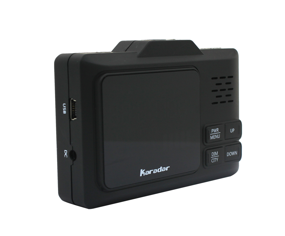 Karadar Voiture GPS anti détecteur de radar 2 dans 1 Police Vitesse GPS pour Russe led Affichage 360 Degrés X K CT L avec 2.4 pouces d'affichage - 3