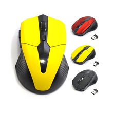 2 4G Wireless Optical Mouse 5 Buttons 2000DPI for PC Laptop Notebook Gaming Mice With USB