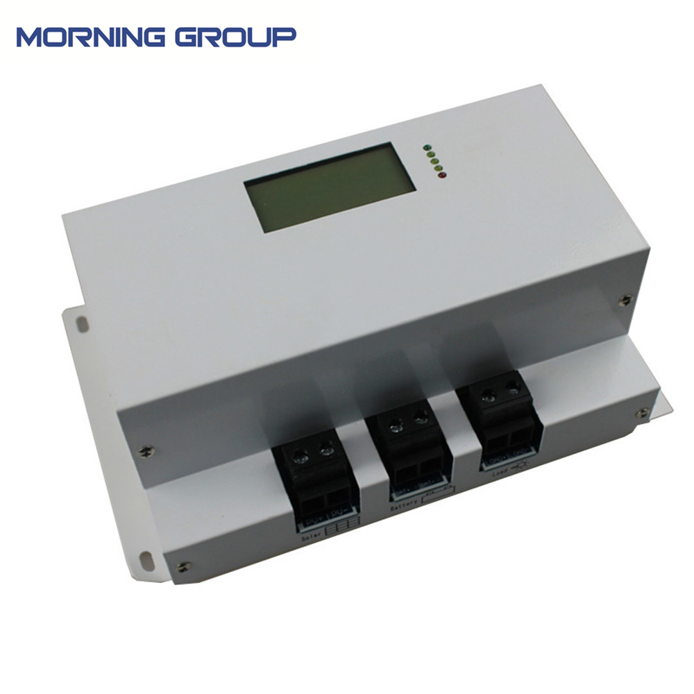 40A 60A 80A 100A MPPT solar charge controller with LCD display system voltage 120V 192V 240V цена