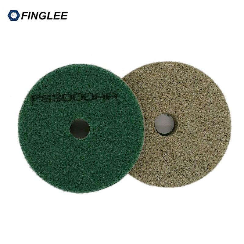 FINGLEE 4 hüvelykes, 2db 100 mm-es szivacs polírozó párnák - Csiszolószerszámok - Fénykép 3