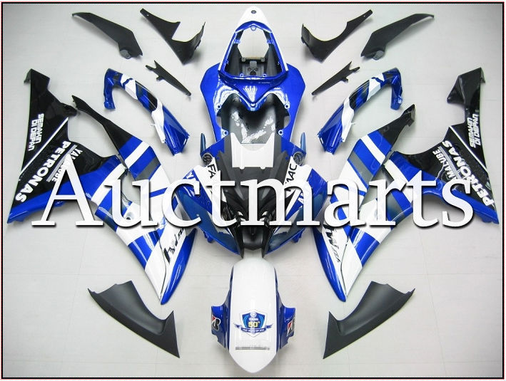 For Yamaha YZF 600 R6 2008 2009 2010 2011 2012 2013 2014 YZF600R 08-14 inject ABS Plastic motorcycle Fairing Kit YZFR6 08-14 12 unpainted abs plastic front fender fit for yamaha 2008 2012 yzf r6 injection mould motorcycle fairing frame cover part