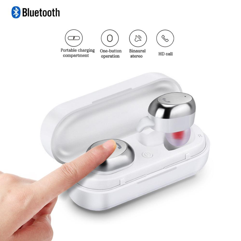 TWS Bluetooth écouteurs sans fil M9 sport écouteurs mains libres sans fil Mini écouteurs avec micro suppression de bruit