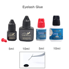 Korea Sky Glue Super Eyelash Fast Drying False Extension Lash Red Black Cap No Sensitive Lady
