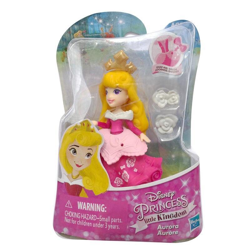 Disney princesse petit royaume la belle au bois dormant AURORA Collection limitée poupée MagiClip jouets pour enfants cadeau