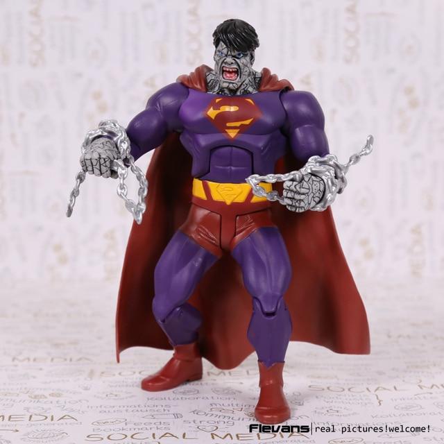 """DC Superhero Evil Bad Superman PVC Action Figure Collectible Model Toy 7"""" 18cm"""