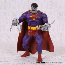 "DC סופרמן Superhero רשע רע PVC פעולה איור אסיפה דגם צעצוע 7 ""18 ס""מ"