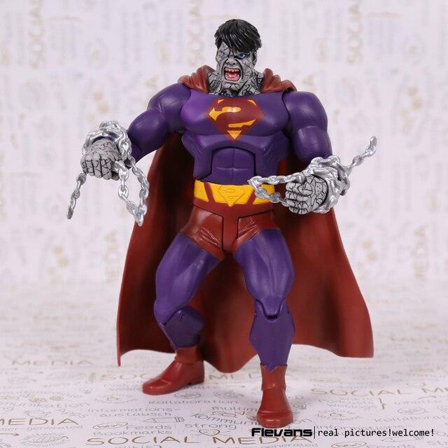 "Dcスーパーヒーロー悪悪いスーパーマンpvcアクションフィギュアコレクタブルモデル玩具7 ""18センチ"