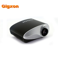 Gigxon H600 480 320P Support Full HD Mini Projector Support Digital TV AV USB HDMI VGA