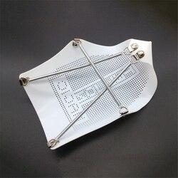 Elektryczne żelazko pokrywa dla Teflon buty PTFE żelaza Pokrywa ochronna pomocy deska do prasowania ciepła ochrony 235 MM * 170 MM żelaza Teflon buty w Części do żelazek elektrycznych od AGD na