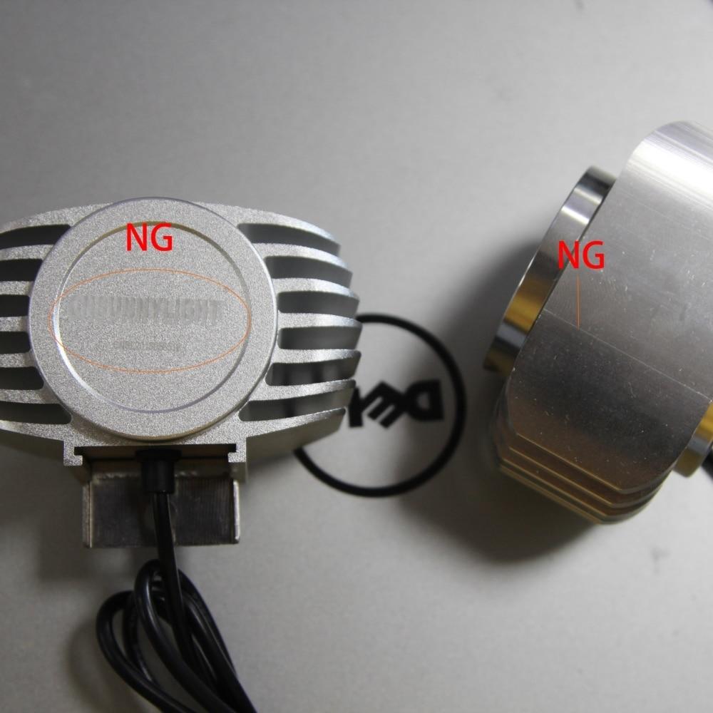 Defectiv Bad appearanc 15W LED DRL Fog Headlamp Spotlight font b Hunting b font Driving Light