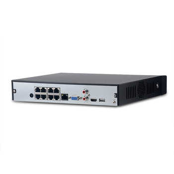 Dahua NVR NVR4104HS-P-4KS2 NVR4108HS-8P-4KS2 With 4/8ch PoE Port H.265 Video Recorder Support ONVIF CGI Metal POE NVR.