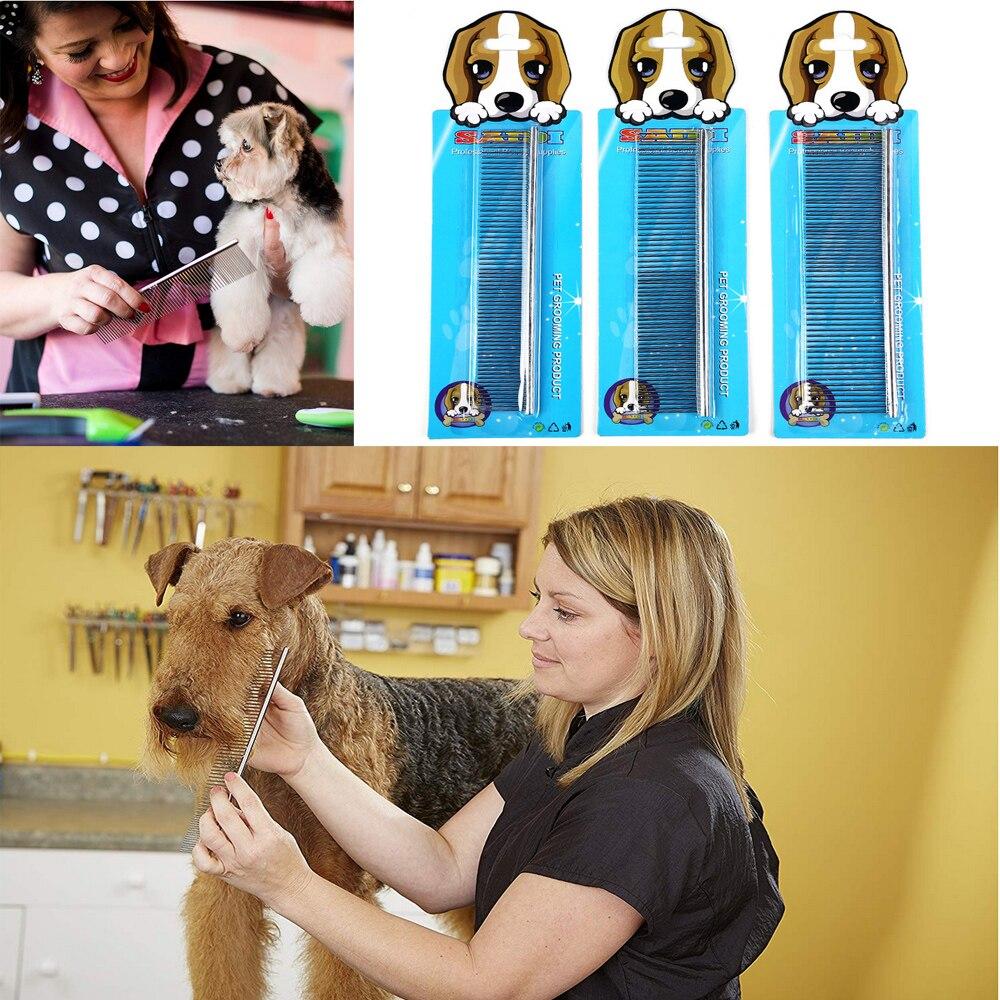 Pet гребешок для ухода за шерстью собак для ухода гребень для лохматых собак Парикмахерская Уход