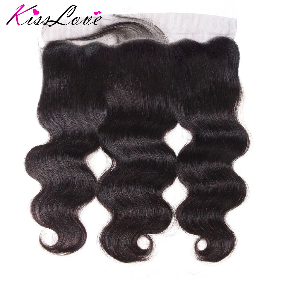 13x4 Ear To Ear Full Lace Frontal Closure Brazilian Hair Body Wave 13x4 Free Part Human Hair Closure With Baby Hair Natural
