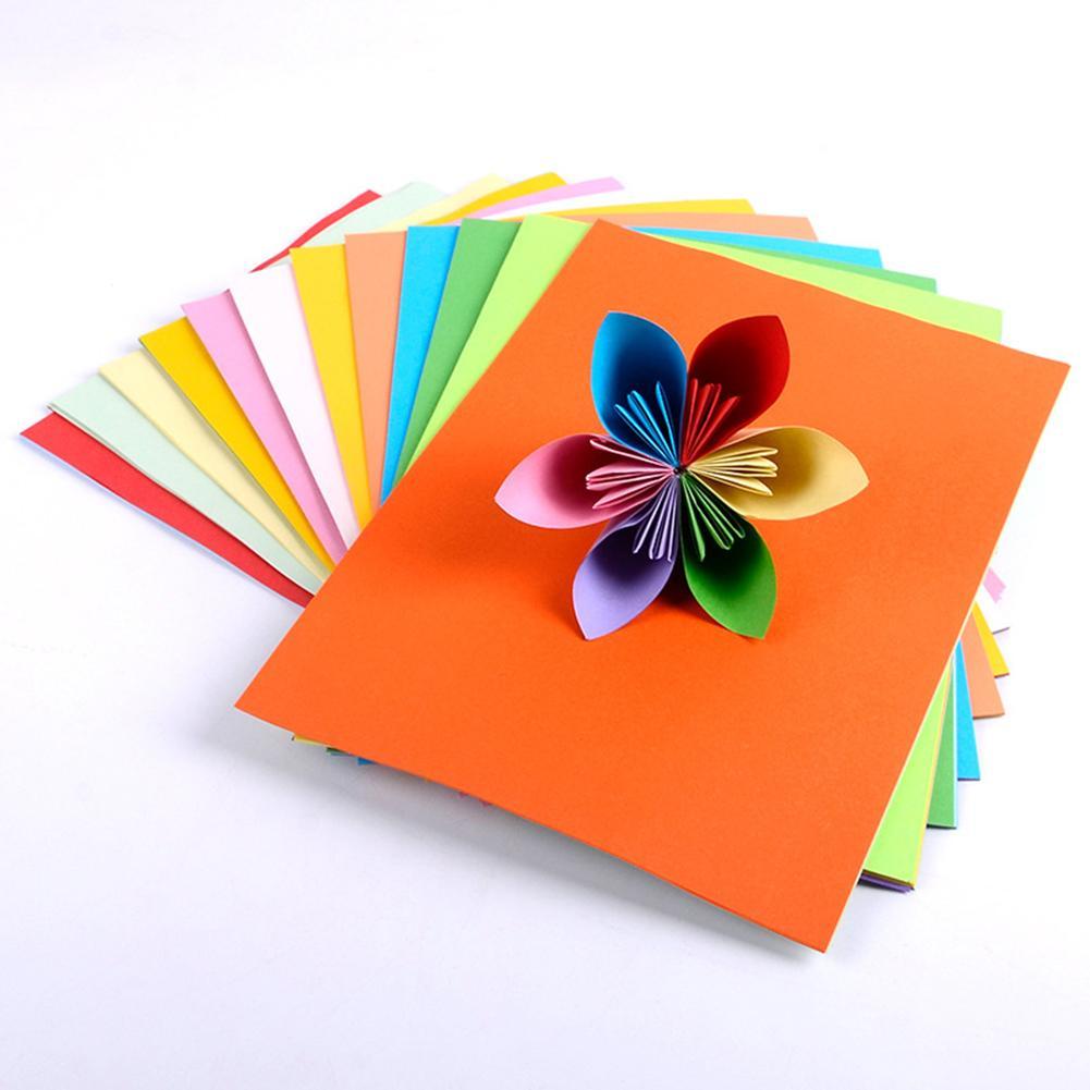 100pcs/pack Mix Colors Multifunction A4 Thick High Quality Sponge Foam Paper DIY Fold Scrapbooking Paper DIY Craft Art Tools