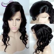 Front Lace Wigs 130 Density Full Lace Human Hair Wigs For Black Women Brazilian Side Part