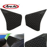 Arashi Tank Pads For KAWASAKI Z1000 2014 2016 Soft Rubber Stickers Side Pad Sticker Motor Gas Fuel Grip Decals 2014 2015 2016