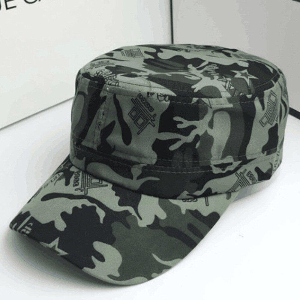 2019 Fashion Men Women Camouflage Outdoor Climbing Canvas   Baseball     Cap   Hip Hop Dance Hat   Caps   Adjustable Hats Droship FFE22