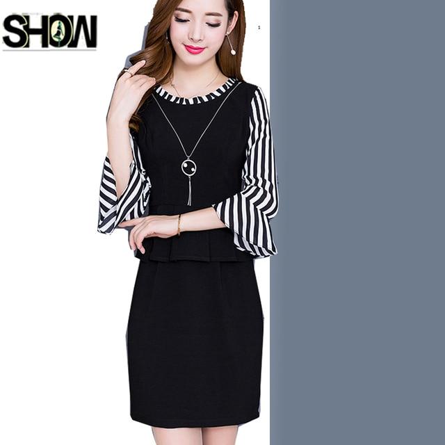 Formale Kleider Neue Design Koreanischen Frauen Mode Herbst Winter ...