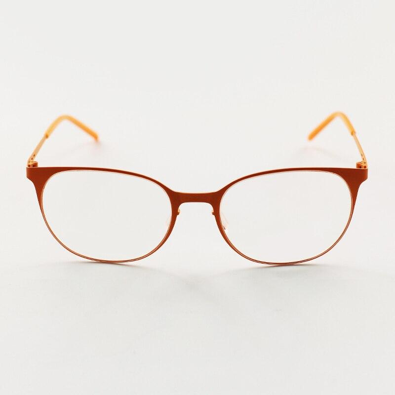 6352d5933b Laura Fairy Ultra thin Stainless Steel Eye glasses Frames for Women  Colorful Memory Super Flex Optical Eyewear Frame-in Eyewear Frames from  Apparel ...