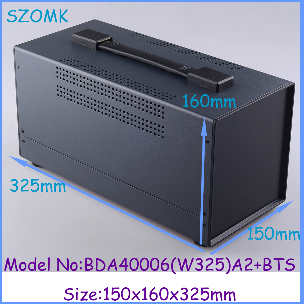 d5560a270876 1pcs 150x160x325 mm electronic iron box steel project box abs enclosures  for electronics iron extrusion enclosure
