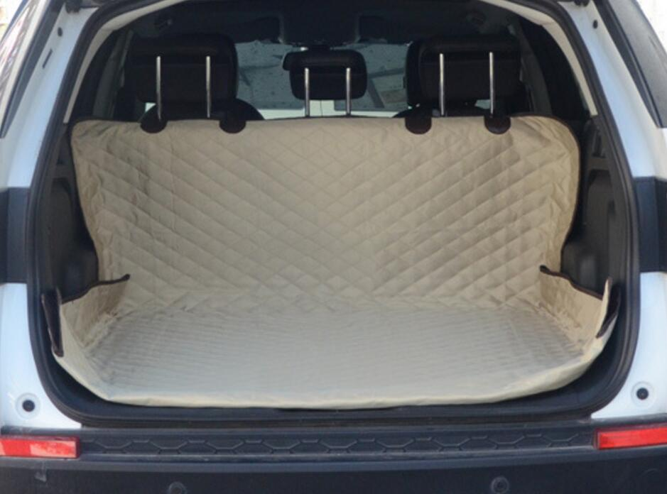 Quilted Car Rear Back Pet Dog Bed Seat Cover Hammock For SSANGYONG KORANDO