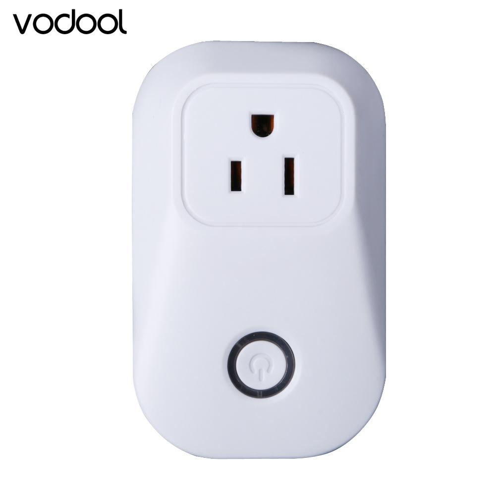 flowcross AC110 ~240V Wifi Cell Phone Wireless Remote Control Home Appliance Automation Switch Timer Smart Power Wall Socket US/EU Plug