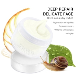 Facial Anti Wrinkle Cream Hyaluronic Acid Snail Cream Acne Treatment Anti Aging Skin Whitening Firming Lifting Cream