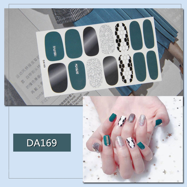 Mybormula 14 советы мода полное покрытие обёртка лака для ногтей наклейки для ногтей Дизайн ногтей украшения маникюрные инструменты 2019