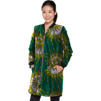 African Women Print African Personality Long Jacket Tailored Dashiki Clothes Ladies Coat Customized Pattern Africa Clothing