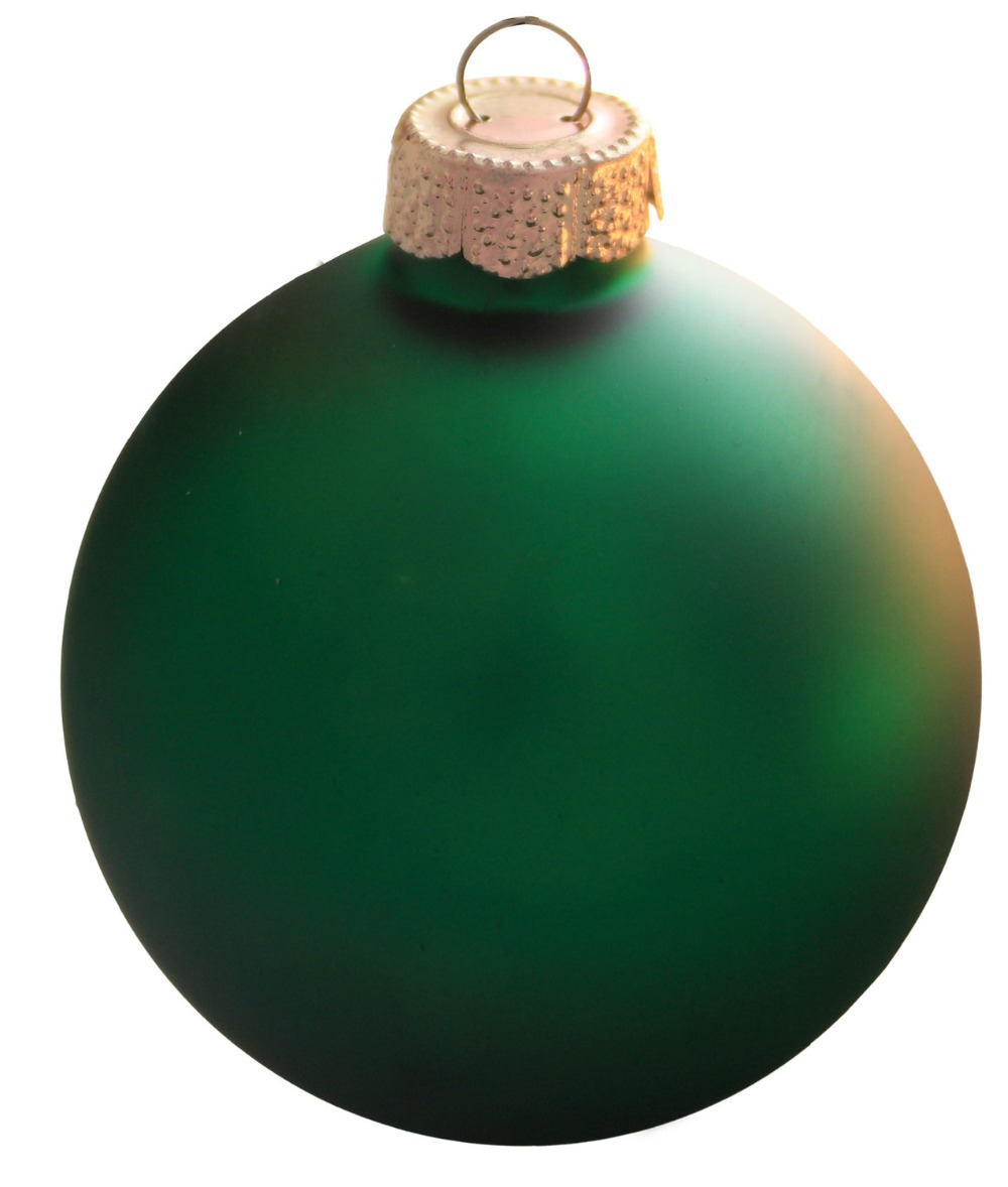 free shipping event party bauble ornaments christmas xmas tree glass balls decoration mm christmas green ball
