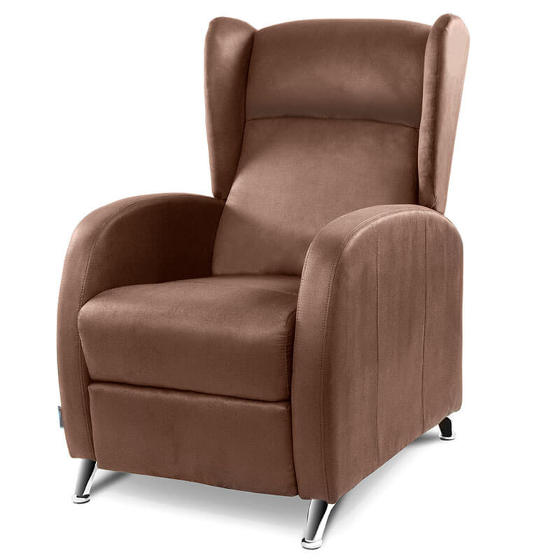 Cecotec Relax Armchair Massage Pushback Model Lisbon Brown Densely
