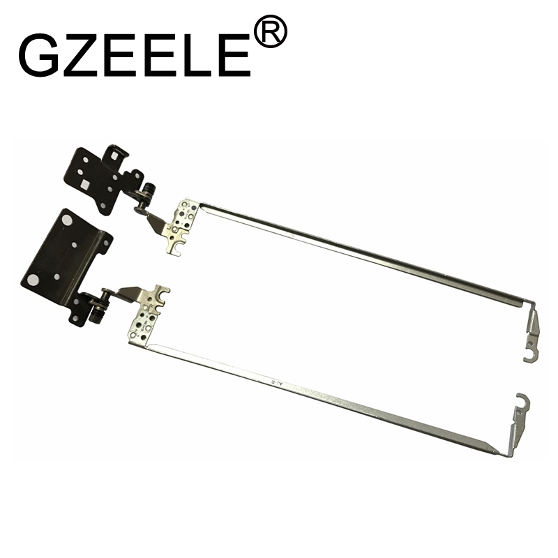 GZEELE New Laptop Hinge For Acer Aspire ES1-523 ES1-532 ES1-533 ES1-572 ES1-532G LCD Hinges AM1NX000100 AM1NX000200 33.GD0N2.004