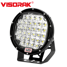 VISORAK 9 160W Offroad LED Work Light 4x4 Bar SUV For Truck Car Tractor 4WD ATV