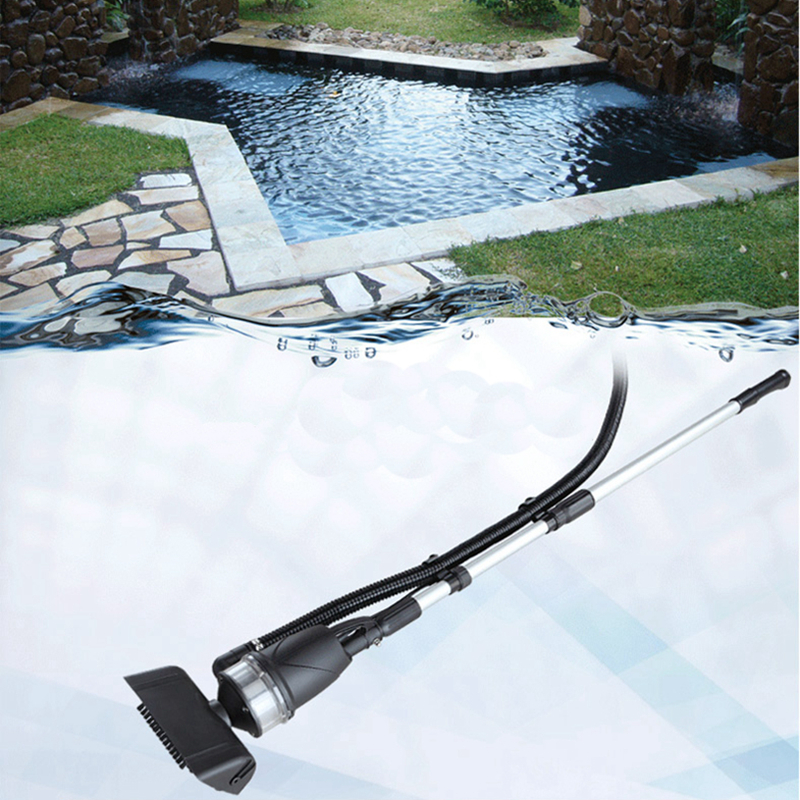 Koi pond cleaner fish pond swimming pool suction pump 135w for Pool pump for koi pond