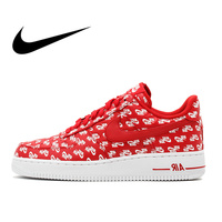 Original Authentic Nike Nike Air Force 1 AF1 07 QS Men's Skateboard Sneakers Top Quality Athletic Designer Footwear 2018 New