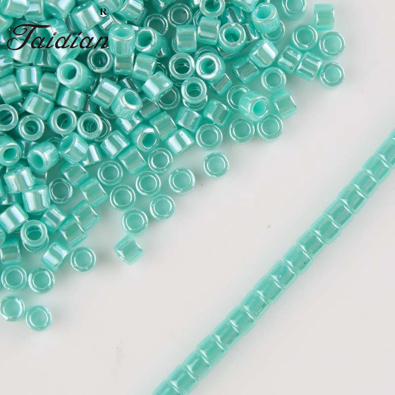 DB1567 Taidian Japanese Delica Seedbeads 110 Multicolor For DIY Embroidery Art gramslot