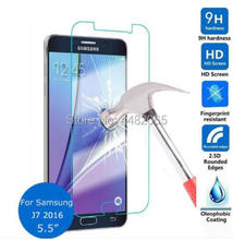 For Samsung galaxy J7 2016 Tempered Glass 9H Protective Film Front Cover Screen Protector for J710X SM-J710FN/DF Guard Verre