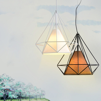 LED Pendant Light Nordic Europe Retro Style Dinning Lamp Dinning Room Living Room Toggery Clothing Shop