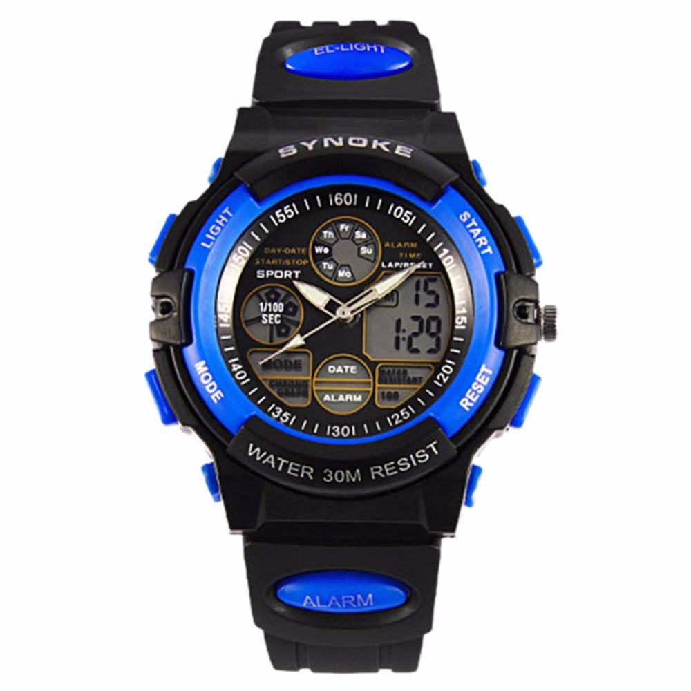 Arrival Kids Relojes Outdoor Waterproof Child Boy's Relogio Sports Electronic Watches Multifunction WristWatch