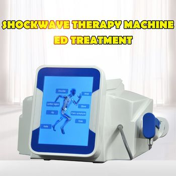 Effective Physical Pain Therapy System Acoustic Shock Wave Extracorporeal Shockwave Machine For Pain Relief Reliever Orthopaedic