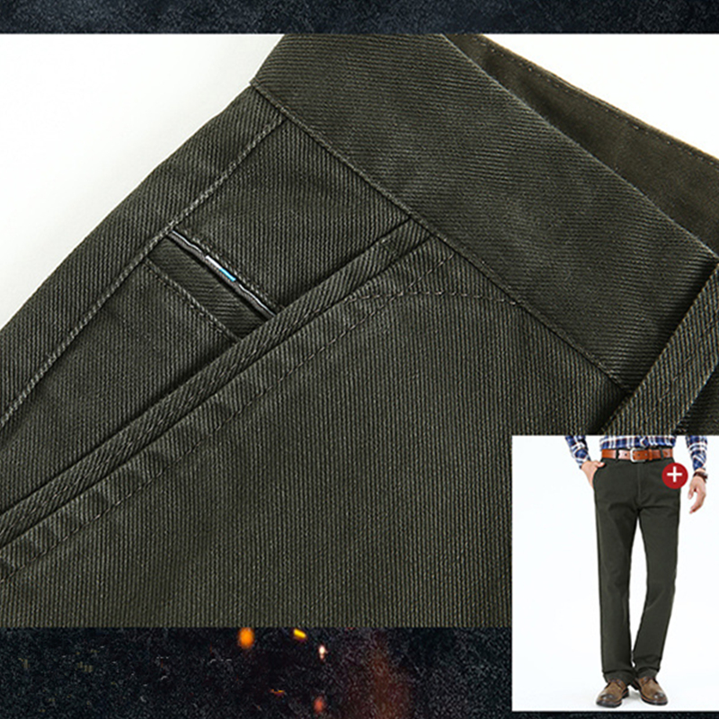 NIANJEEP Herren Hosen Casual Taschen Baumwolle Cargo Pants Männer - Herrenbekleidung - Foto 5