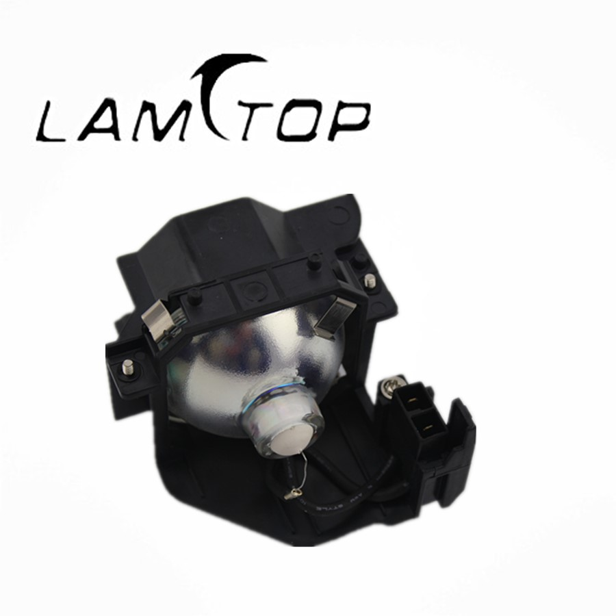 Free shipping   LAMTOP  projector lamp  with housing/cage  ELPLP37 230W for  EMP6100 масштаб 1 18 vw volkswagen new cross polo 2012 diecast модель автомобиля оранжевый