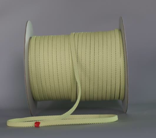 High Quality Kevlar Fiber Belt Heat Resistant Fire Retardant Tempered Glass Machine Roller Rope