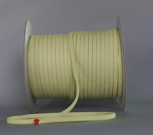 Corde de rouleau de Machine de verre trempé ignifuge résistant à la chaleur de ceinture de Fiber de Kevlar de haute qualité