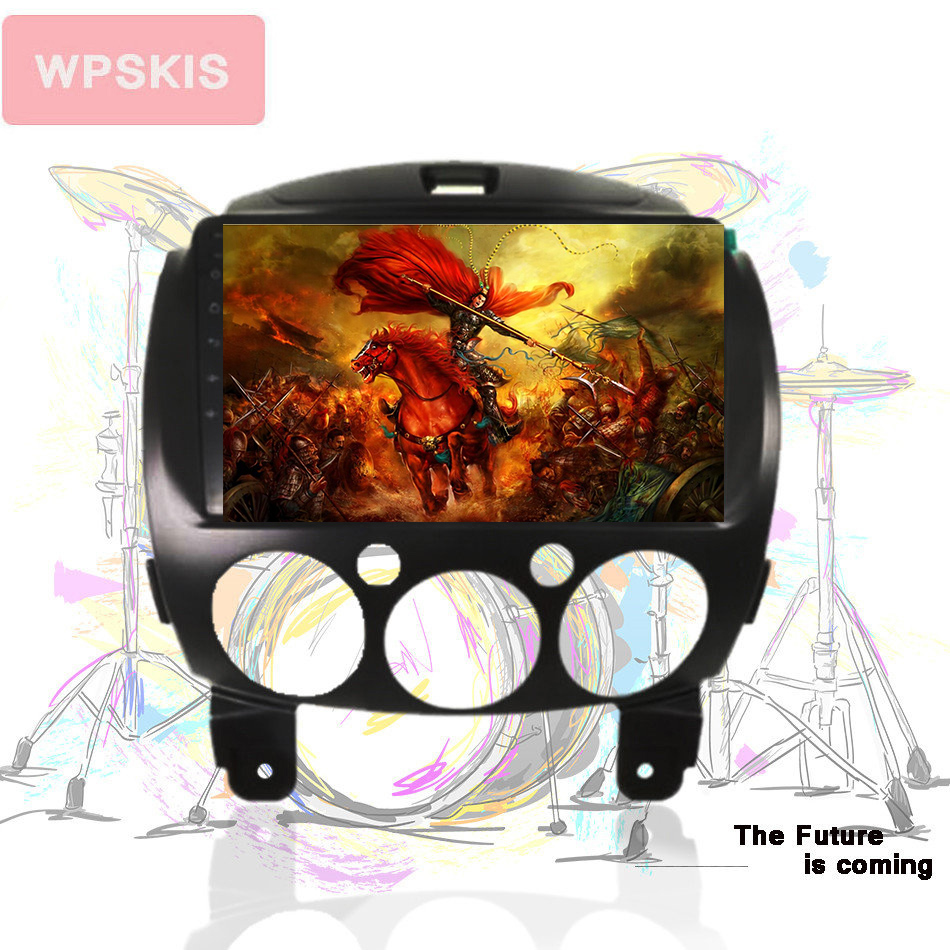 Car Multimedia Navigation Android 9 0 4G 64GB System For Mazda 2 2007 2014 GPS Player